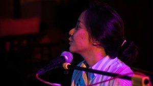 Christabel Annora main untuk hookspace musik jogja