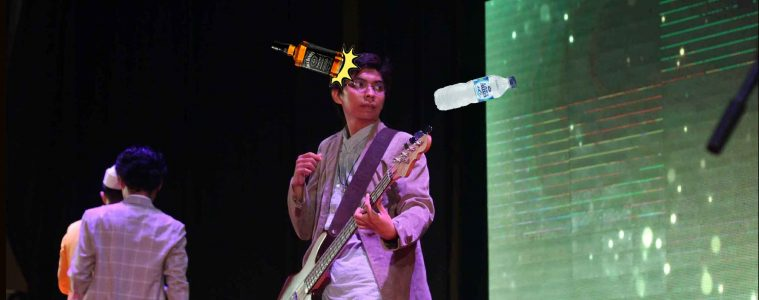 Gilang Sapatuh Gilang - Elmo Sang Jawara Porsenigama (Band Jogja Hookspace)