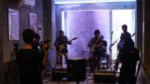 Lighting di konser virtual HOOKSpace