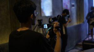 Cameraman Konser Virtual HOOKSpace