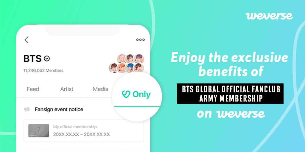 Weverse, apps engagement fans buatan HYBE