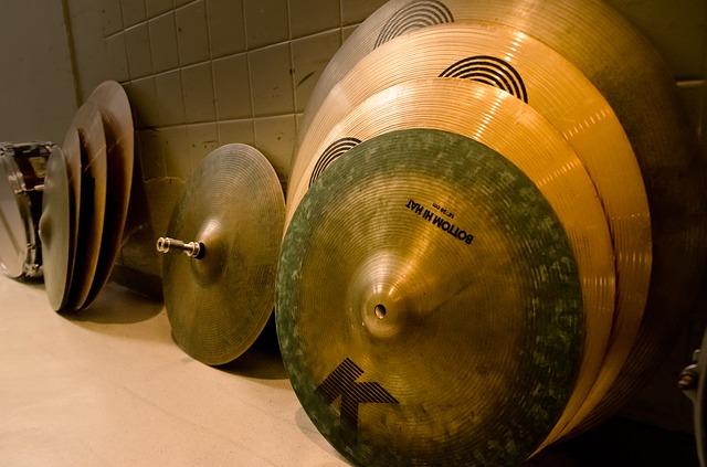 Cymbal adalah alat musik ritmis modern yang biasanya menjadi pelengkap dari drum set.